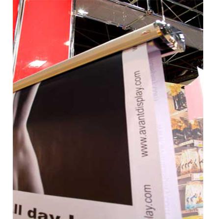 Banner med fjärrkontrol
