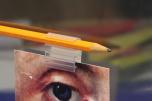 Penna-skylthållare