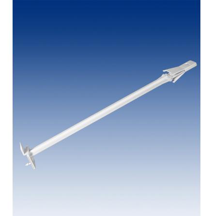 Anti glid spjut, vit glasfiber