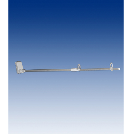 Bannerarm teleskop 570-950mm, magnet