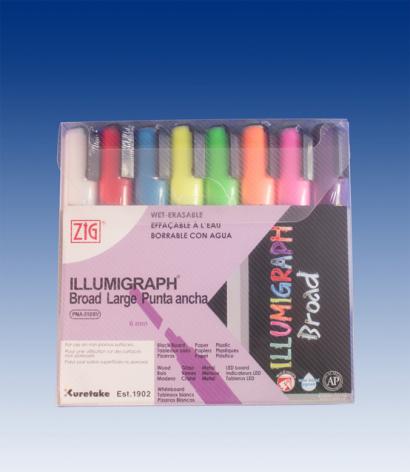 1 set med 8st Illumigraph 6mm