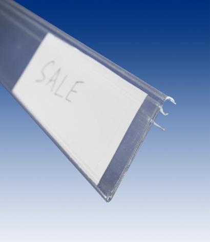 Hyllkantslist för trådhylla 5-7mm