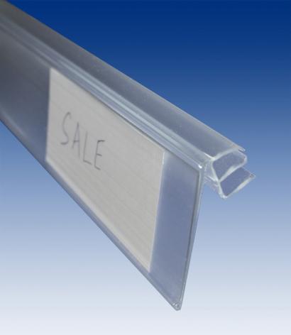 Hyllkantslist för trådhylla 5-8mm
