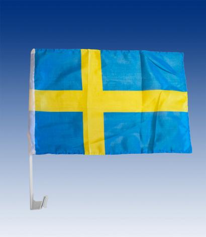Flaggfäste bil-flagga