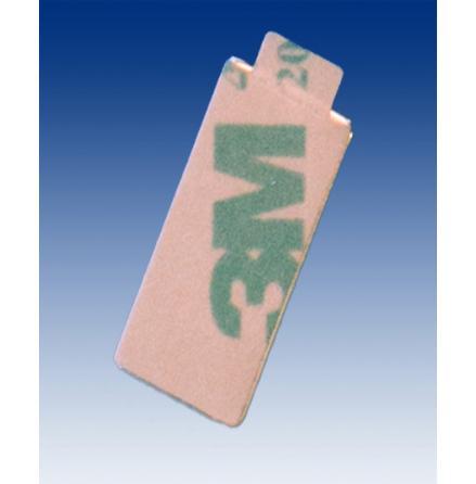 Blockmagnet med tejp 20x10x2 mm